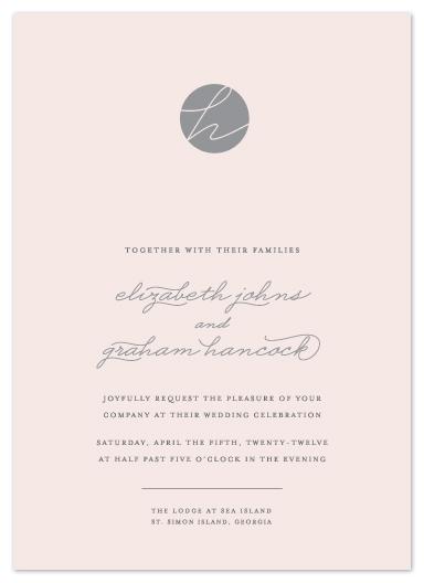 wedding invitations - Blushing by Sydney Newsom