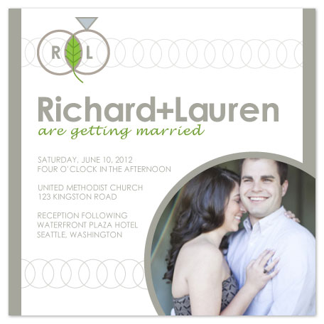 wedding invitations - With This Ring by Jenn Johnson