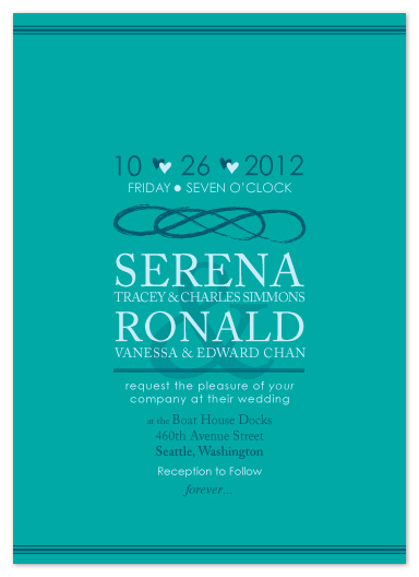 wedding invitations - Forever by Angela Chih
