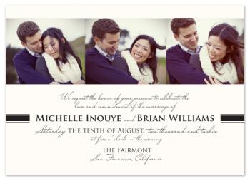Modern Elegance Wedding Invitations