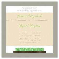 Tranquil Spa Wedding Invitations