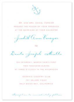 Anchor's Away Wedding