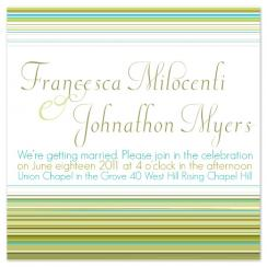 missoni Wedding Invitations