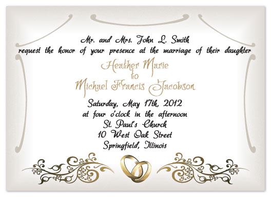 wedding invitations - Dreamy by Connie Daly
