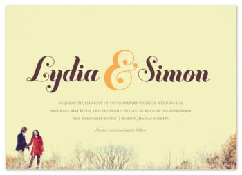 Reminisce Wedding Invitations