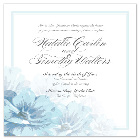wedding invitations - Blooming Peonies by Janelle Otsuki