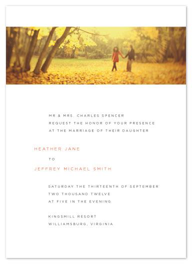 wedding invitations - Modern Landscape by Jill Means