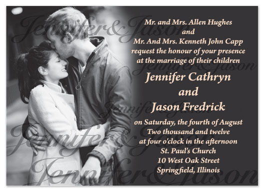 wedding invitations - Soulmates by Connie Daly