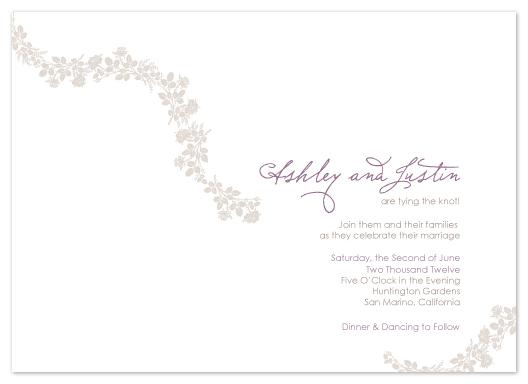 wedding invitations - Enchanted by Lauren Elisabeth