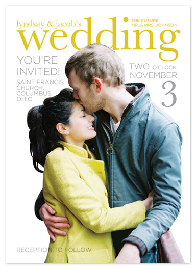 wedding invitations - Featured Couple by Katie Speelman