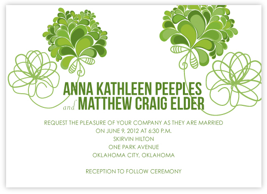 wedding invitations - Hearts Content by Anna Elder