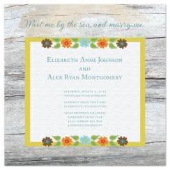 Beachwood Wedding Invitations
