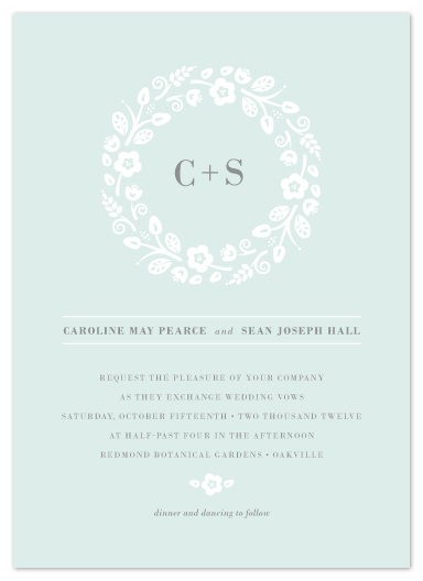 wedding invitations - Flowers All Around Us by Kimberly Morgan