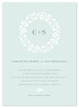 Flowers All Around Us Wedding Invitations