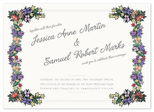 wedding invitations - Lush by Lauren Elisabeth