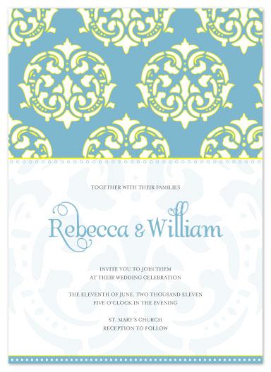 wedding invitations - Modern Moroccan by Courtney Michelle Designs