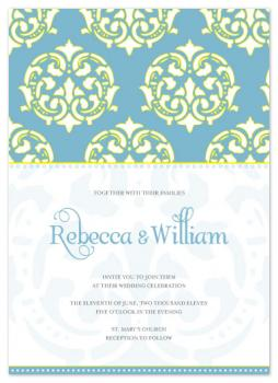 Modern Moroccan Wedding Invitations
