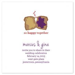Happy Together Wedding Invitations