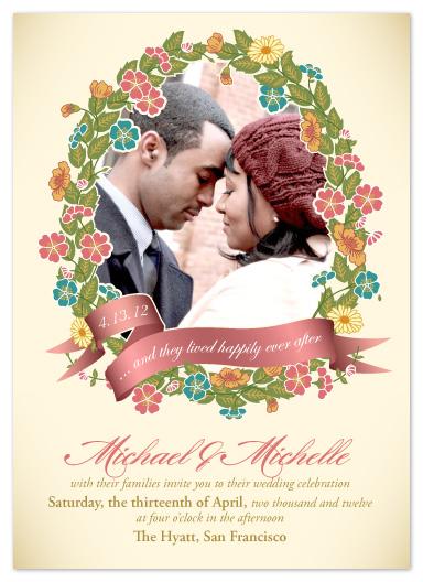 wedding invitations - Enchanted by Janelle Otsuki