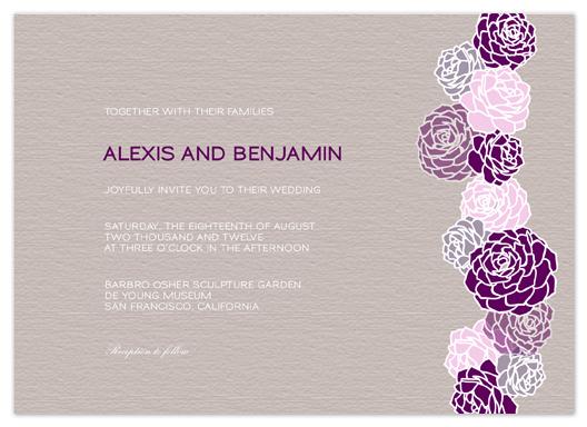 wedding invitations - Blossom by Phoebe Wong-Oliveros