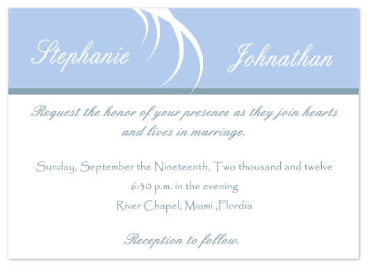 wedding invitations - Pure & Simple by Tashandia McCoy
