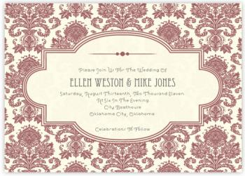 Modern Sophisticate Wedding Invitations