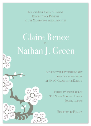 wedding invitations - In the Orient by cmdesign