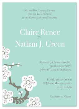 In the Orient Wedding Invitations