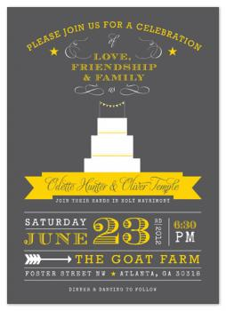 Made in the South Wedding Invitations