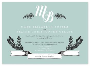 Sweet Rustic Charm Wedding Invitations