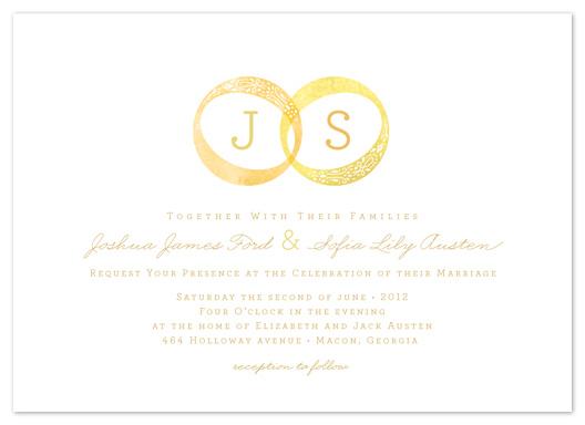 wedding invitations - Warmth & Bliss by Susie Allen