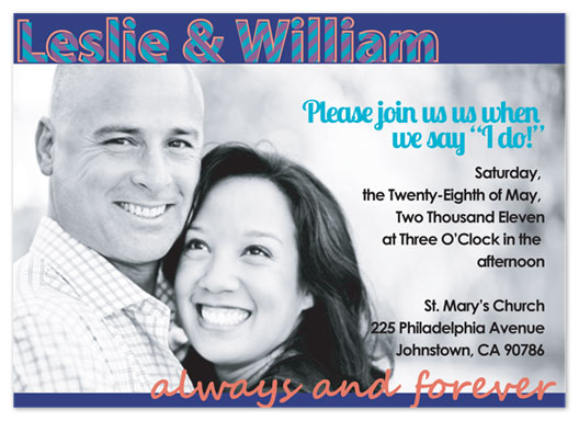 wedding invitations - Extra Large Photo by Leslie Rico