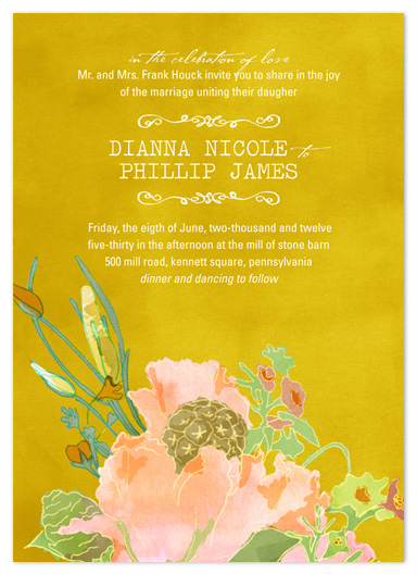 wedding invitations - annabell by Beth Ann