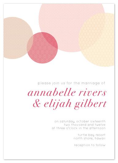 wedding invitations - Circular Patterns by jmelianne
