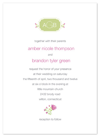 wedding invitations - Organic Love by Larkspur Paperie