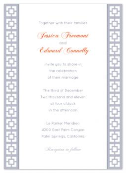 Parker Simplicity Wedding Invitations