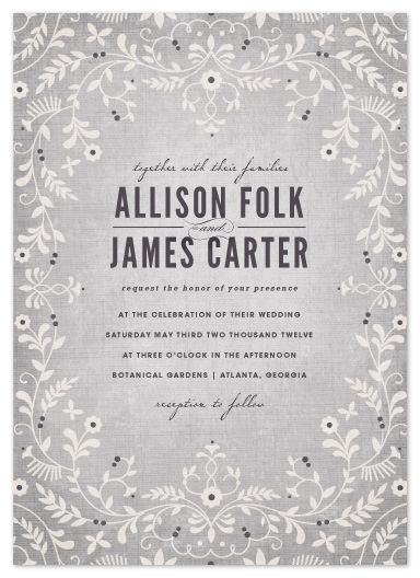 wedding invitations - A Midsummer Night's Dream by Kristen Smith