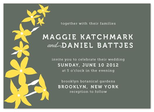 wedding invitations - spring into love by Heather Ben-Zvi