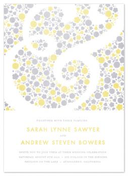et fleurs Wedding Invitations