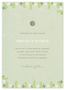 pastoral Wedding Invitations