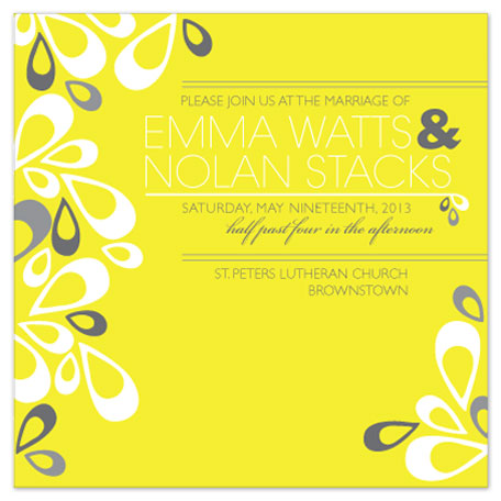 wedding invitations - First Love by Allison Sparks