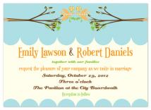 Lovebirds by Aisle Say Wedding Papers by Graphix Blue LLC