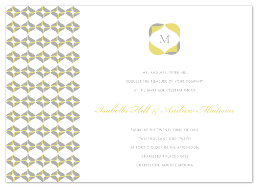 wedding invitations - Folds by Kristie Kern