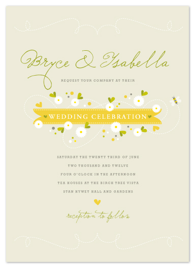 wedding invitations - Honey by Kristie Kern