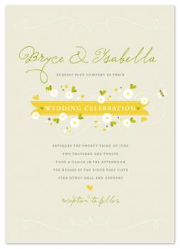 Honey Wedding Invitations