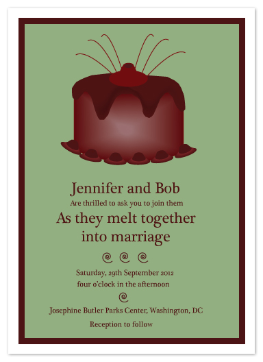 wedding invitations - We two are one by Antonia Balazs
