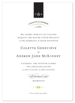 Splendid Wedding Invitations