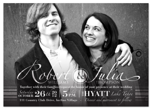 wedding invitations - Vintage Bliss by Janelle Otsuki