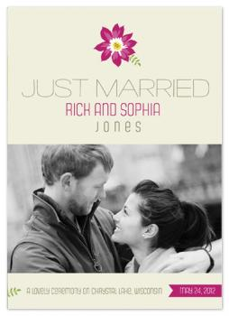 We Did It Wedding Invitations