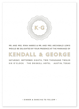 Pocket Watch Wedding Invitations